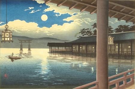tsuchiya_koitsu-collection_of_views_of_japan-summer_moon_at_miyajima-00044019-120622-f12-e1464095928730